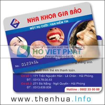 Thẻ Bảo Hành Nha Khoa, Thẻ Bảo Hành khám bệnh định kỳ, Thẻ Bảo Hiểm Sức Khỏe, Thẻ Khám Bệnh Định Kỳ