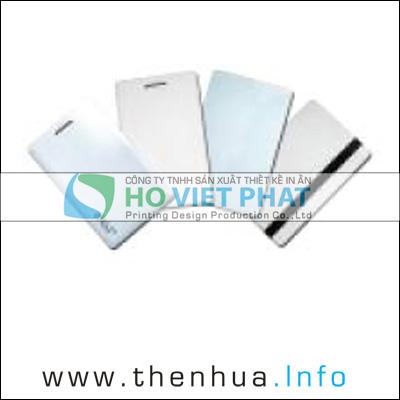 THE CAM UNG TU, Thẻ Mango Cảm Ứng Loại Dày, Thẻ Mango có đục lỗ đeo dây thẻ nhân viên