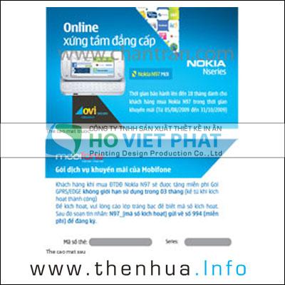 THE CAO BAO MAT, In Thẻ Cào Bảo Mật Thông Tin, Thẻ Cào Chống Soi An Ninh