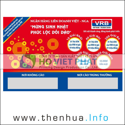 THE CAO TRUNG THUONG, In Thẻ Cào Tráng Bạc Kéo Lụa Giá Rẻ, In Thẻ Trúng Thưởng