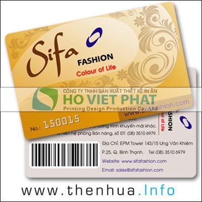 In Thẻ Khuyến Mãi, Thẻ Giảm Giá, In Thẻ Hội Viên VIP, In The Hoi Vien Giam Gia, In Thẻ Giảm Giá
