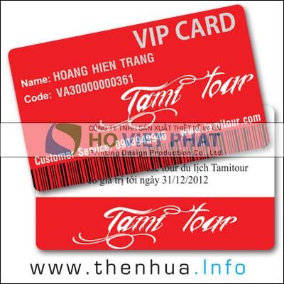 Thẻ Hội Viên Du Lịch, Thẻ Liên Kết Sản Phẩm Du Lịch Tours, Thẻ Hướng Dẫn Tours