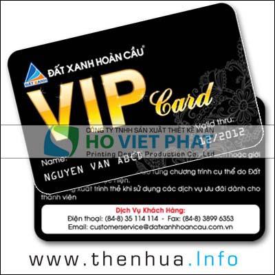 Thẻ Khách Hàng Bất Động Sản Thân Thiết, Thẻ Giảm Giá Khách Hàng VIP