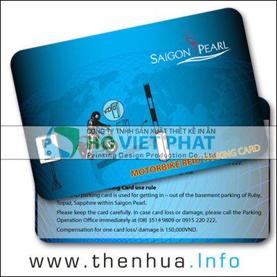 Thẻ Chip RFID Cảm Ứng Giữ Xe