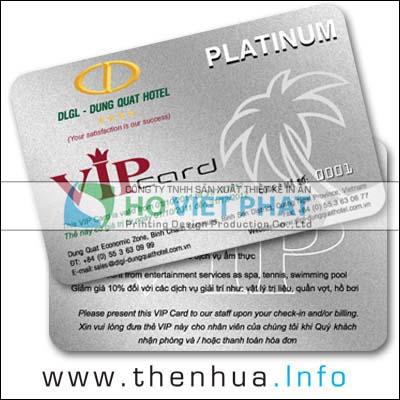 Thẻ Ưu Đãi VIP, Thẻ Giảm Giá Cho Khách Hàng VIP