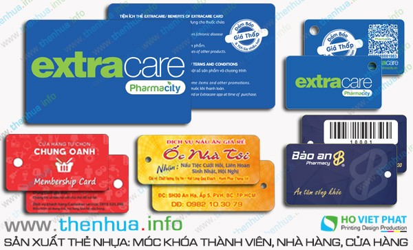 Làm thẻ xe ra vào khách sạn Minh Anh số ít