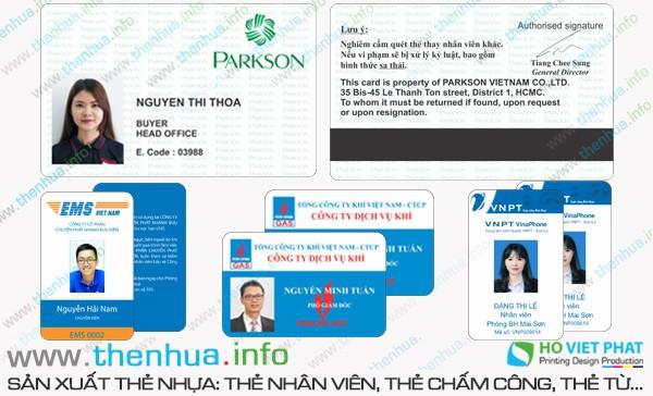 Sản xuất thẻ vip cho phòng gym, yoga tại Sài Gòn chất lượng