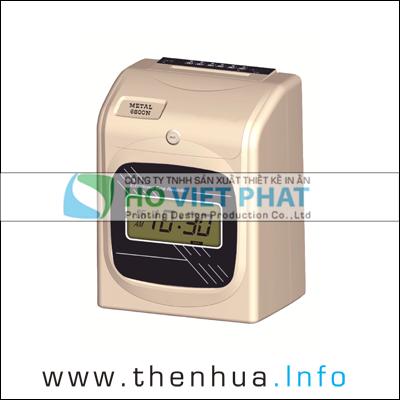 Máy chấm công thẻ giấy METAL 6800N