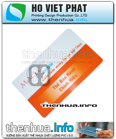 Thẻ Bảo Hành Sản Phẩm.