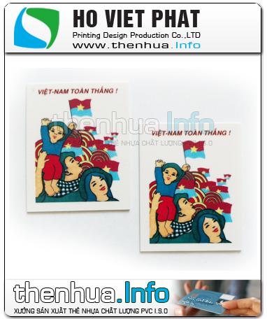 Thẻ Nhựa Gắn Nam Châm
