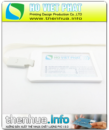 Hộp nhựa ABS đựng thẻ nhân viên nhập khẩu - Đứng 01 mặt