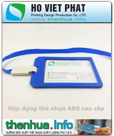 Hộp nhựa ABS - Dây đeo thẻ nhân viên nhập khẩu